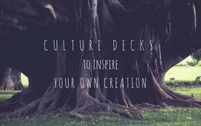 5 Culture Decks you can learn from but NOT copy!